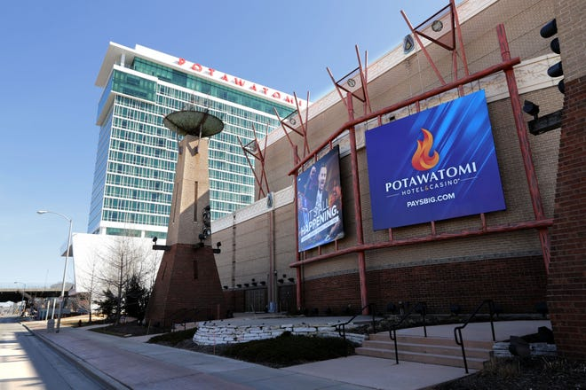 Potawatomi Hotel & Casino is shutting down indefinitely, beginning Tuesday.