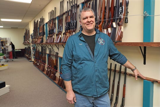 """Paul Lippold, owner of Ron's Gun Shop in Germantown, noticed an uptick in firearms sales the middle of last week. Then last Friday and Saturday he said sales just went crazy. Lippold said from his conversations with customers it became clear that almost all of them were first-time gun buyers and were buying guns for self-defense if, in their words, """"things got crazy."""""""