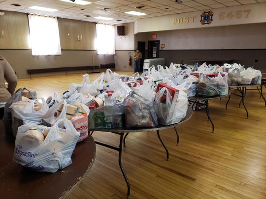 Jocelyn Inglis is collecting food, cleaning supplies and paper goods for those in need in her community of Bergenfield