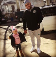 Chris Green with his niece