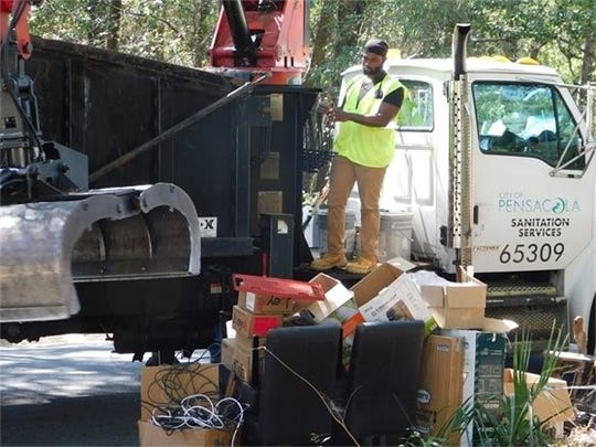 Mayor's Neighborhood Cleanup collects over 68tons of bulk waste.
