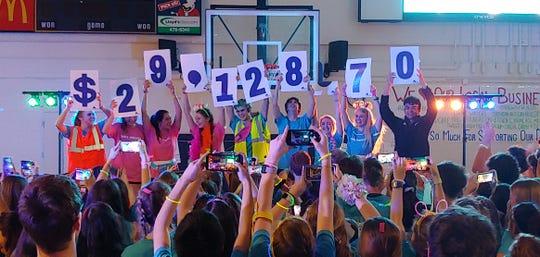 Gulf Breeze High School raises over $29,000 for the Studer Family Children's Hospital.