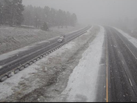 Another storm is expected in northern Arizona on March 17, 2020, just after last week's system.