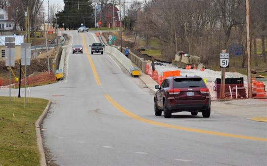 The hundreds of vehicles that drive across the Elmore bridge every day will have to find alternative routes until the bridge reopens mid-August. Elmore Mayor Rick Claar strongly encourages motorists to follow detour signs because the only accesses across the Portage River are out of town.