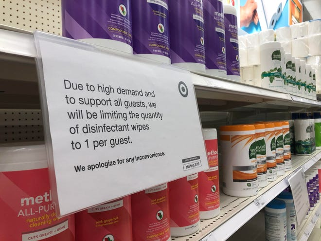 Some grocery and retailer chains started limtiing the quantity of products customers can purchase.