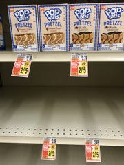 What happens when you cross pretzels with Pop Tarts? People desperate for food will ignore them.