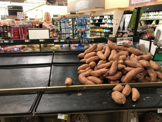 What's wrong with sweet potatoes?