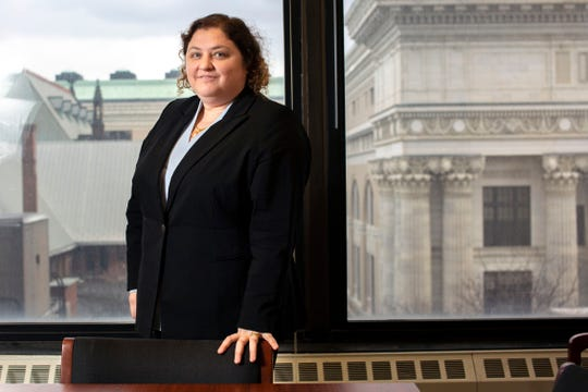 Shoshanah Bewlay, the executive director of the New York State Committee on Open Government, in the Department of State offices in Albany on Thursday, February 27, 2020.