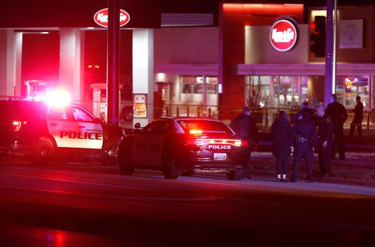Four people were killed, including a Springfield Police officer, by an active shooter overnight at a Kum & Go on East Chestnut Expressway. The shooter was also found dead with a self-inflicted gunshot wound.