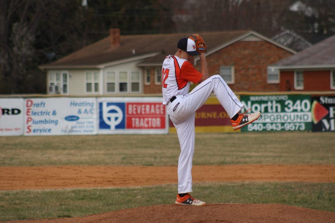 Peter Shifflett, a Grace Christian sophomore, pitches Friday against Smith Mountain Lake Christian Academy.