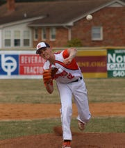 Grace Christian's Peter Shifflett threw a perfect game Friday in a win over Smith Mountain Lake Christian Academy
