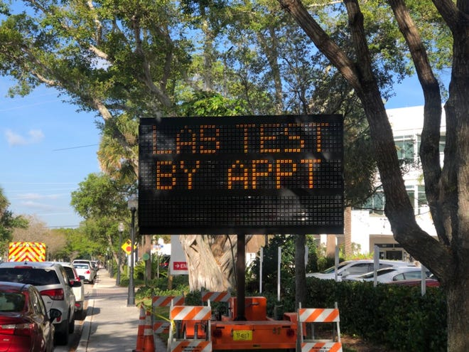 Cleveland Clinic Martin Health is offering drive-thru coronavirus testing on an appointment-only basis for those who meet state guidelines at the downtown Stuart hospital. To schedule testing call 772-419-3360 from 8.a.m. to 5 p.m.