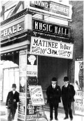 """In 1901, Tarrytown Music Hall was one of the region's only theaters featuring """"moving pictures."""" Seventeen years later, the Music Hall, Tarrytown and the wider world endured the 1918 Influenza pandemic."""