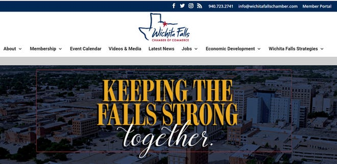 The Wichita Falls Chamber of Commerce launched a website Monday afternoon for information and assistance during the COVID-19 situation.