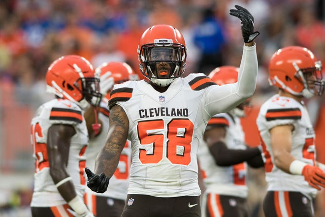 Former Browns linebacker Christian Kirksey was brought in to boost the Packers' defense.