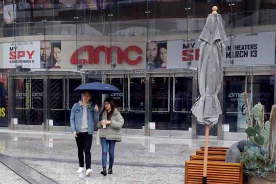 AMC has closed its theaters to help halt the spread of coronavirus.