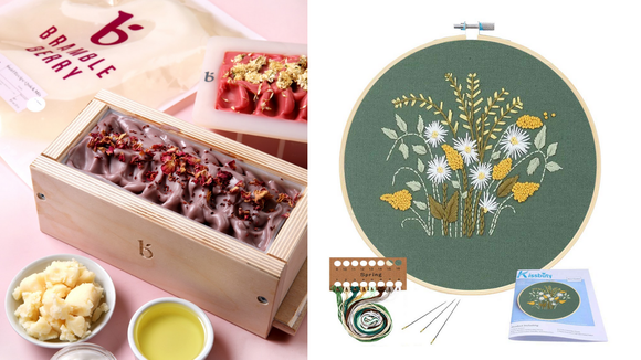 These crafting kits are perfect for adults.