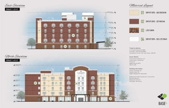 A five-story, 103-room Candlewood Suites hotel will go up in the parking lot near Innsbruck Mall.