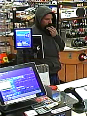 Binghamton police are seeking the public's help in identifying this suspect in an armed robbery Sunday, March 15, 2020 in Binghamton.