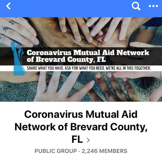 "In the wake of the coronavirus pandemic, Stacey Patel started a Facebook page: Coronavirus Mutual Aid Network of Brevard County, FL. The mission: ""Share what you have. Ask for what you need. We're all in this together."""