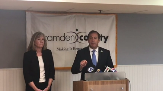 Camden County Freeholder Director Louis Cappelli Jr. has been holding almost daily press briefings on the growing number of coronavirus cases in the county and their impact  on residents, hosptitals, businesses and schools.