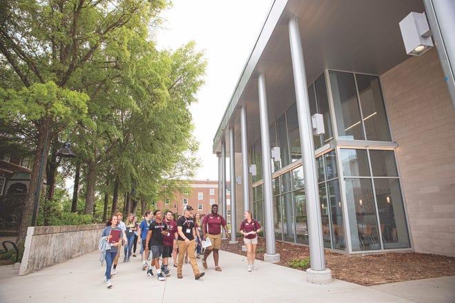New student orientation at Eastern Kentucky University.