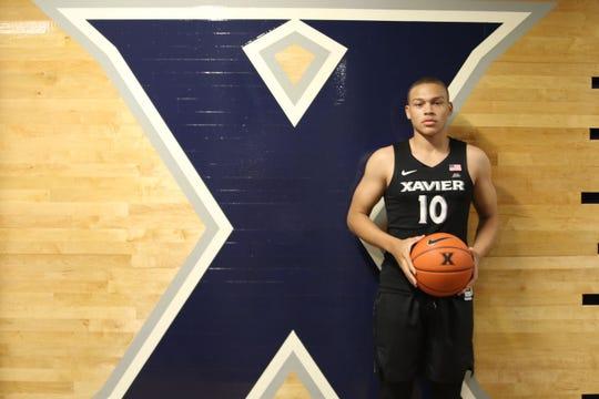 C.J. Wilcher, of Roselle, New Jersey, will join Xavier University's men's basketball team for the upcoming 2020-21 season.