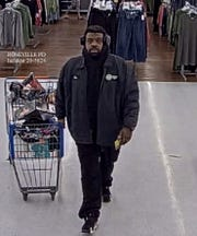 Police said this man threw a Walmart employee to the ground and into a shopping cart, causing a cut on the worker's head.