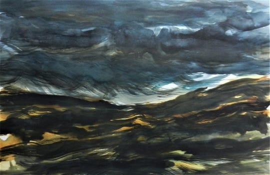 """Sergio De Giusti's """"Desert Storm."""""""