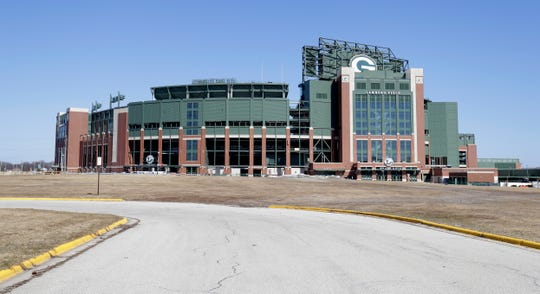 The Green Bay Packers closed Lambeau Field have extended the closure of Lambeau Field to April 24.