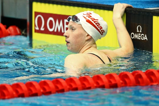 Lilly King is looking for a pool to train in.