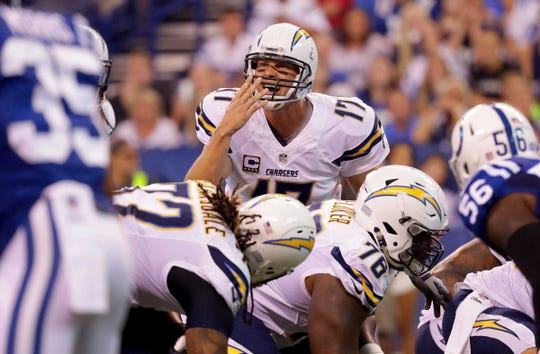 Quarterback Philip Rivers and the Los Angeles Chargers will be a tough road test for the Colts.