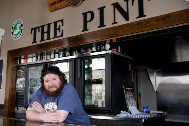 Patrick Hagmaier, owner of The Pint in West Lafayette, plans to reopen his tap room Sunday, as restrictions continue to lift in Indiana amid the coronavirus pandemic.