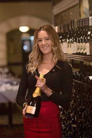 Kelli Bazer is a sommelier with Marcello's Wine Market.