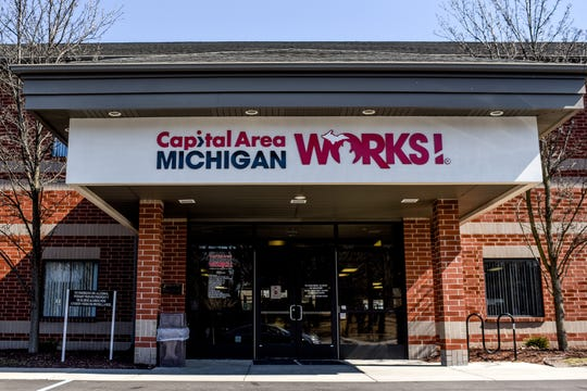 The Capital Area Michigan Works! office at 2110 South Cedar Street photographed on Tuesday, March 17, 2020, in Lansing.