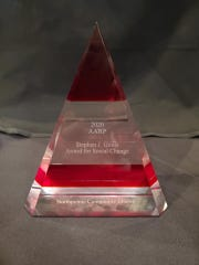The 2020 AARP Michigan's Stephen J. Gools Award for Social Change.