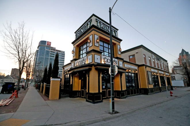 Trinity Three Irish Pubs is at 125 E Juneau Ave.