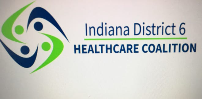 The logo of the Indiana District 6 Health Care Coalition