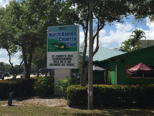 On March 17, 2020, North Naples Country Club remains open with reduced capacity for its annual St. Patrick's Day celebration despite coronavirus scares.