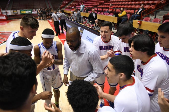The Las Cruces boys basketball won the Class 5A state championship on Saturday in Albuquerque.