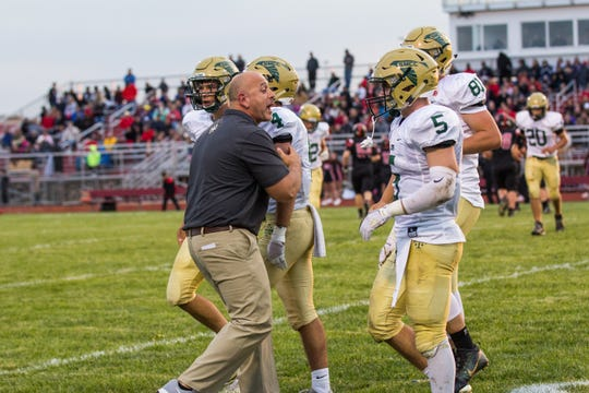 Patrick Ignagni will take over as the school's new football coach.