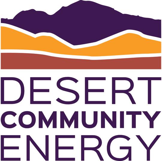 Deserty Community Energy's logo.