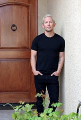 Local DJ Alex Harrington, 33, of La Quinta is photographed at home in La Quinta, Calif., on Tuesday, March 17, 2020. Harrington says at least half of his income is made by deejaying during the busy season of the Coachella Valley.