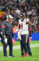 Will things more difficult in Houston for Bill O'Brien and Deshaun Watson (4) without DeAndre Hopkins?