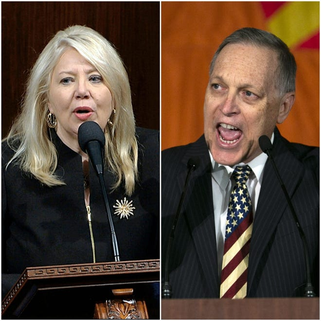 Arizona Reps. Debbie Lesko and Andy Biggs