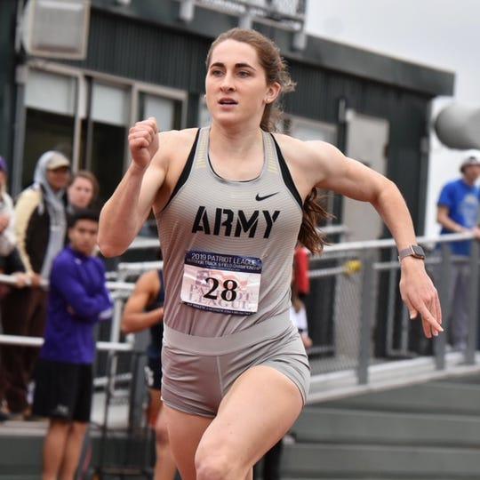 South Western grad Lynne Mooradian had her senior track season at Army cut short due to concerns over the coronavirus.