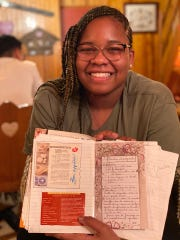Imori Janvier,15, was traveling internationally with her school doing missionary work when the group's trip came to a halt in Europe because of the coronavirus.