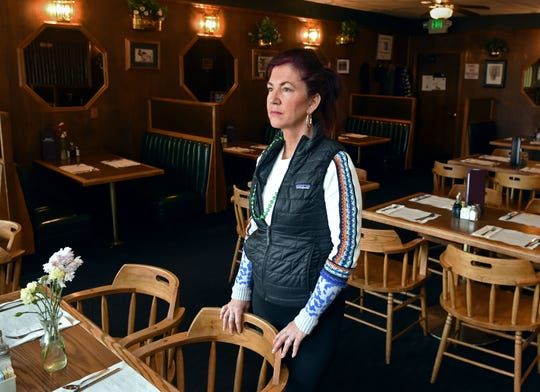 Sloan Simon, whose family has owned Simon's Café & Lounge in Reno for more than 30 years, said it was important to offer to-go orders during the closure to help the restaurant's many customers who are seniors.