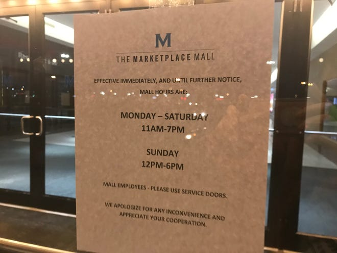 Area Malls have new schedules.