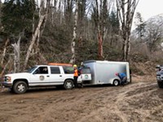 Authorities located the body of a missing Silverton man Sunday at the base of an embankment near Scotts Mills in rural Marion County.